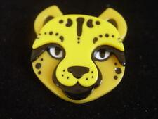 Cheetah Resin Brooch Erstwilder Cheetara'S Chum