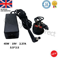 For TOSHIBA Laptop Charger Adapter Power Supply PA3822U-1ACA 19V 2.37A 45W