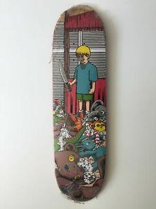 NOS 101 Adam Mcnatt Stuffed Animals  Skateboard Deck