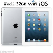 "32GB 9.7"" inch iPad 2 Gen Apple IOS Wi-Fi IPS 720P Cámara DualCore Tablet PC EU"
