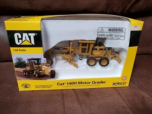 Norscott Cat 140H Motor Grader 1:50 Scale Diecast Replica #55030 Open Box