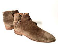 Louis Vuitton LV Beige Suede Leather Shoes Boots Size 43, UK-9, US-10
