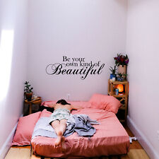 Vinyl Wall Art Decal - Be your own kind - 13* x 36* - Inspirational Decor