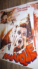 PANIQUE !  affiche cinema horreur