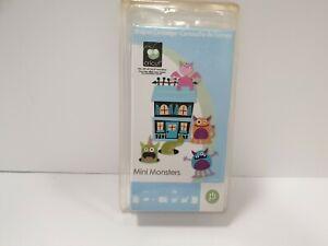 Circut 2000192 Scrapbooking Mini Monster Shapes Cartridge