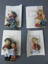 Hummel Lot of (4) Ornaments-1st Nativity,Little Brother,Heavenly Trio,Fresh Tree