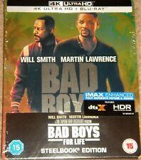 Bad Boys For Life 4K Ultra HD Steelbook+Blu Ray / WORLDWIDE SHIPPING
