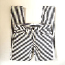 Joes Jeans Womens Size 27 Blueberry Stripe Cotton Slim Fit Skinny Jeans Stretch