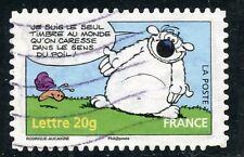 TIMBRE DE FRANCE  OBLITERE N° 3961 / AUTOADHESIF N° 94 LE CHIEN CUBITUS