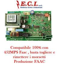 COMP. FAAC 452 MPS Genius Brain 592 Ja592 230V Centrale Scheda Comando Cancello