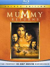 The Mummy Returns [Blu-ray] DVD, Brendan Fraser, Rachel Weisz, John Hannah, Arno