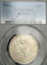 1936 Arkansas Comm. Half Dollar PCGS MS66 (D0442)