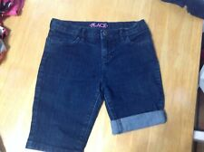 EUC Childrens Place Denim Shorts with adjustable waist (8)
