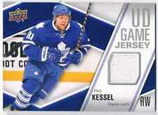 2011-12 UPPER DECK GAME JERSEY PHIL KESSEL JERSEY 1 COLOR TORONTO MAPLE LEAFS