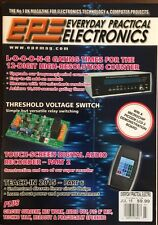 Everyday Practical Electronics Threshold Voltage Switch July 2015 FREE SHIPPING