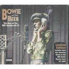 DAVID BOWIE Bowie At The Beeb CD 52 Track Limited Edition 3 Disc Set With Oute