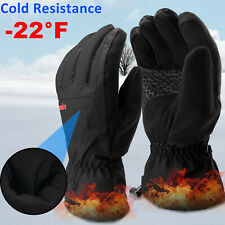 -22°F Winter Ski Men Gloves Touch Screen Driving Thermal Warm Windproof Outdoor