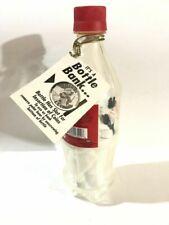Vintage Coca Cola Plush Polar Bear in Bottle Unopened Very RARE