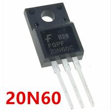 2 PCS FQPF20N60C FQPF20N60 20N60 FAIRCHILD TO-220