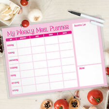 Weekly Meal Planner Laminated Landscape A4 FREE PEN -MAGNETIC AVAILABLE