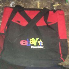 eBay Powerseller Logo Red & Black Tote Bag New Orleans  2004