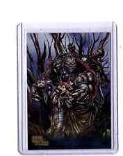 DC Super-Villains GOLD Parllel #56  Solomon Grundy card 21/25