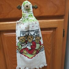 $2.50*Everyday  Terry Cloth Kitchen Towel with 100% Cotton Crochet Topper