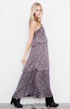 NWOT KITE & BUTTERFLY Anthropologie SILK Teardrop Rosebud Dress XS Retail $365