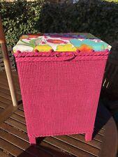 Pink Lloyd Loom Style Laundry / Storage Box