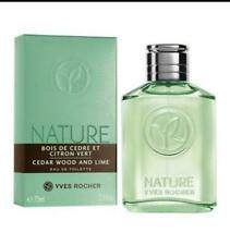 Yves Rocher CEDAR WOOD AND LIME, Eau de TOILETTE, NIB, 75 ml