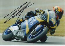 Louis Rossi mano firmado 7x5 Foto Tech 3 Moto 2 MotoGP 17.
