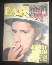 BAM AUG 1984 ROTTEN,PRINCE,POISON 2 Yrs BEFORE '86 Debut LP! &CHILI PEPPERS 1st!