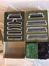 Aurora Mini Trix N scale Postage Stamp Baltimore & Ohio RR Passenger Train Set