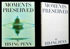 Moments Preserved by Irving Penn, Signed First Edition - 1960
