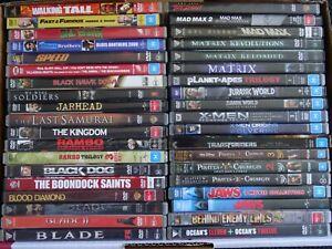 DVD Bulk Lot of 55 Movies