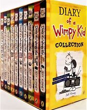 Buy diary of a wimpy kid paperback ages 9 12 books for children ebay brand new diary of a wimpy kid 10 books box collection setold school solutioingenieria Choice Image
