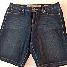 Nine West Denim Bermuda Shorts Vintage America Size 10