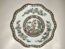 """COALPORT ENGLAND CHINA THE INDIAN TREE 5-1/8"""" SAUCER FOR 2"""" FOOTED CUP SCALLOPED"""
