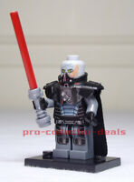 Darth Malgus Star Wars Minifigure +Stand Sith KOTOR The Mandalorian Clone FREESH