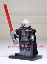 Darth Malgus Star Wars Minifigure +Stand Sith KOTOR The Mandalorian Clone FREESH