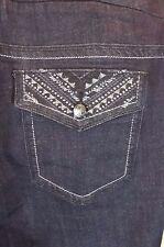 NEW Melissa McCarthy Seven7 Jeans Womens Plus Size - 28 W Slim Boot Leg Bootcut