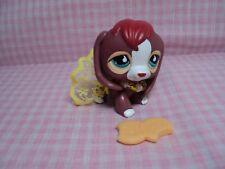 Discontinued Authentic Lps Littlest Pet Shop Beagle W/Handmade Accessories