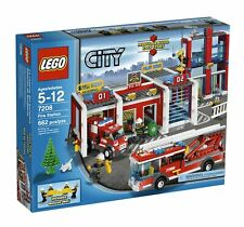 LEGO City Fire Station 7208 - New with Minor Box Damage