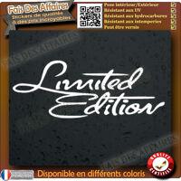 sticker autocollant limited edition edition limité decal sponsor
