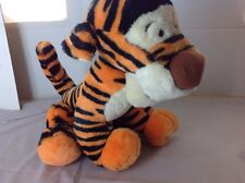 "Vintage Disney Winnie the Pooh 14"" TIGGER Plush Stuffed Disneyland World EUC"