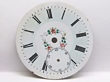 Antique No Name Pocket Watch Fancy Porcelain Dial in Good Condition 38.5 mm.
