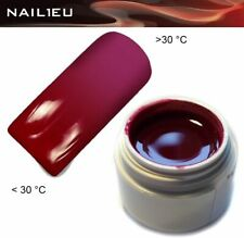 Uv Thermo Gel 02 Red - Purple 5ml / Nail Gel Colorgel Thermo Gel Color Gel