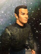 "Diamond Select /Art Asylum Star Trek Kirk As Romulan 7 "" Action Figure Rare"