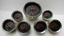 Abarth Gauges - Tacho Oil Pr Oil  Temperature Oil  Bar Temp Fuel  Volt Gauge