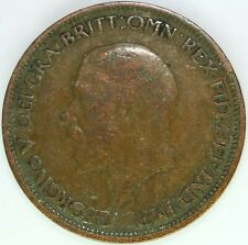 1928 HALF PENNY OF GEORGE V.     #WT15472